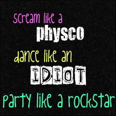 party like a rockstar quotes com