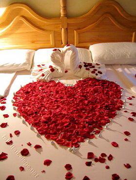 Love Heart Bed Love