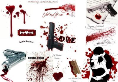 Love Bloody Wallpaper : Bloody Love :: Emo :: MyNiceProfile.com
