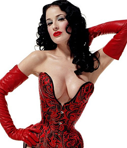 Dita Von Teese Sexy Celebrities Myniceprofilecom