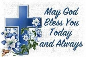 May God bless   keep you