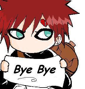 Bye Bye Anime :: Bye :: MyNiceProfile.com Gaara And Naruto Chibi