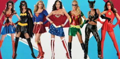 Superheroes girl costumes heroes - Image super heros fille ...