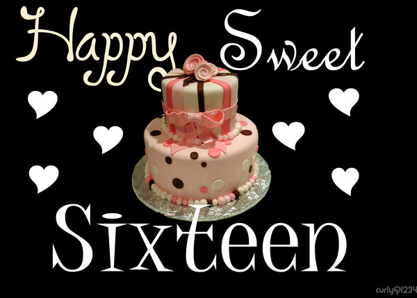 happy sweet sixteen    happy birthday    myniceprofile com