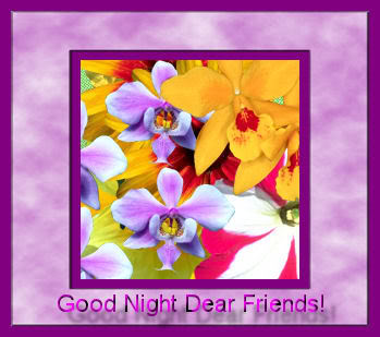 Good Night Dear Friends! :: Bye :: MyNiceProfile com
