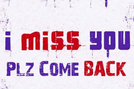 I miss You Pls Come Back :: Miss You :: MyNiceProfile.com