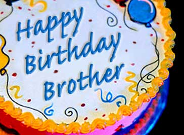 Birthday Cake Pic For Big Brother : Happy Birthday Brother :: Happy Birthday :: MyNiceProfile.com