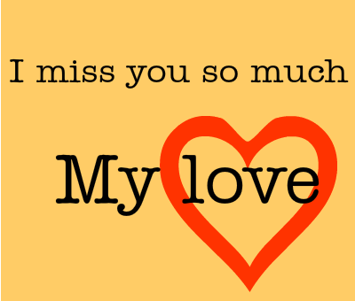 I miss you so much My love :: Miss You :: MyNiceProfile.com I Miss You So Much Baby Quotes
