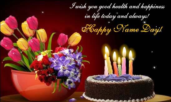 happy name day wishes  happy birthday  myniceprofile