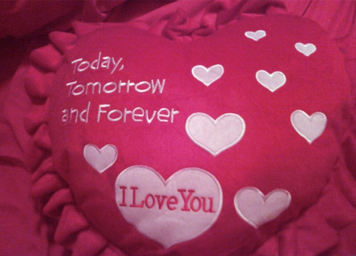 Today Tomorrow And Forever I Love You Love