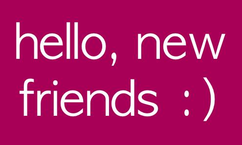 Hello New Friends MyNiceProfile