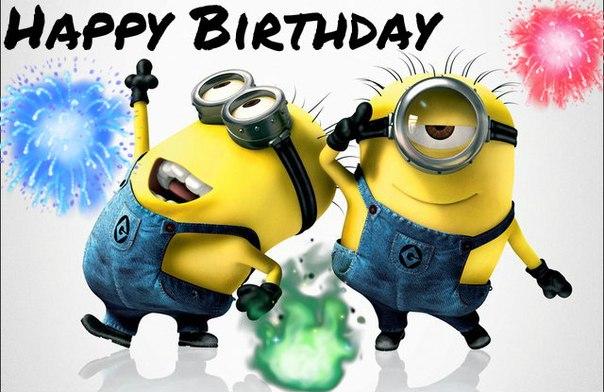 Happy Birthday Minions Happy Birthday