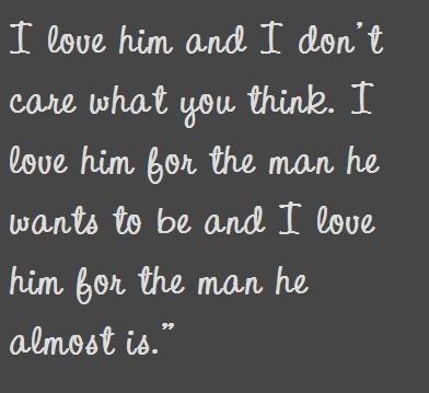 think loves
