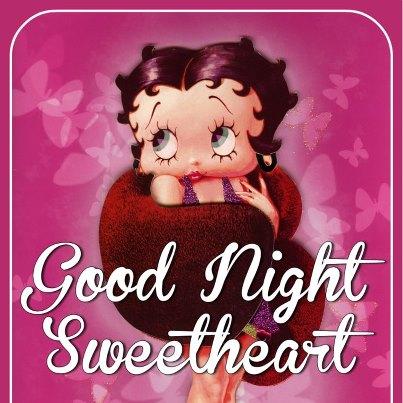 Good Night Sweetheart -- Betty Boop :: Bye ...