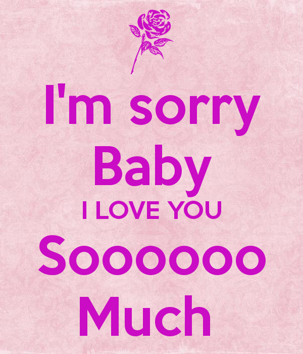 Sorry Baby Image - impremedia.net