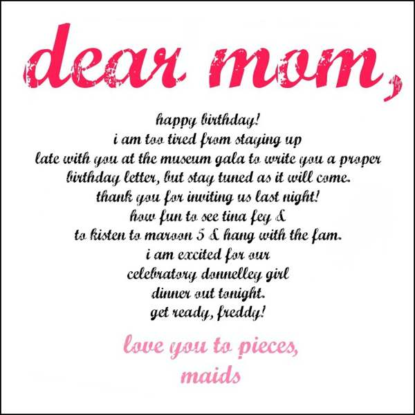 BIRTHDAY QUOTES FOR MOM :: Happy Birthday :: MyNiceProfile.com