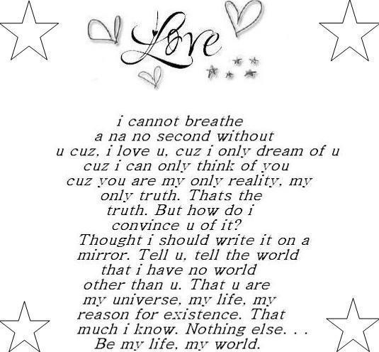 love sayings love