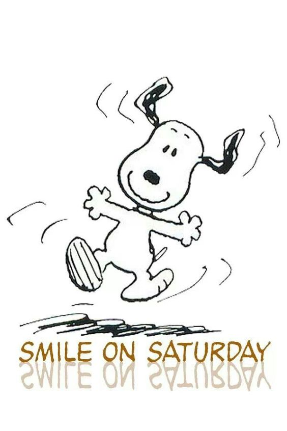Smile On Saturday Snoopy Saturday Myniceprofile Com