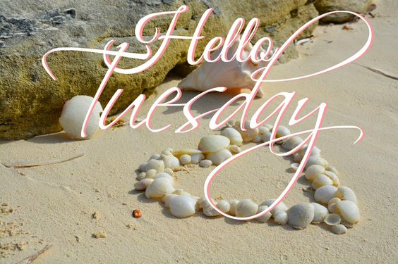 Hello Tuesday -- Heart on the Beach :: Tuesday