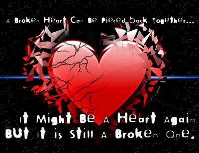 Broken Heart Images A broken heart can be pieced