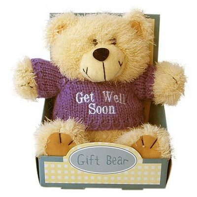 Get Well Bear In The Box Get Well Myniceprofile Com