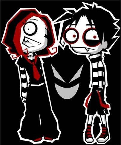 Emo Couple Anime :: Emo :: MyNiceProfile.com