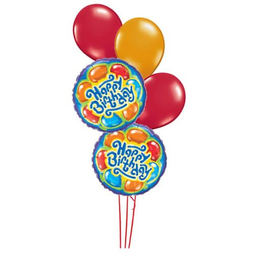 Happy Birthday Baloons :: Happy Birthday :: MyNiceProfile.