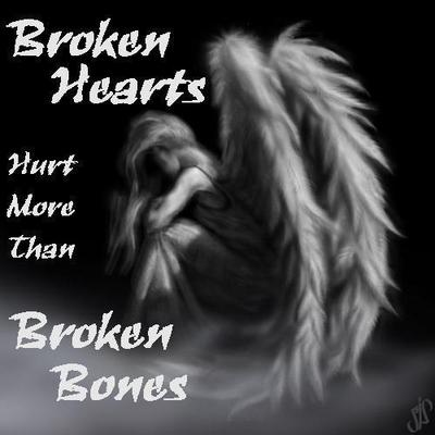 Broken Heart Comments Pictures