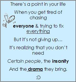 tired of chasing people quotes