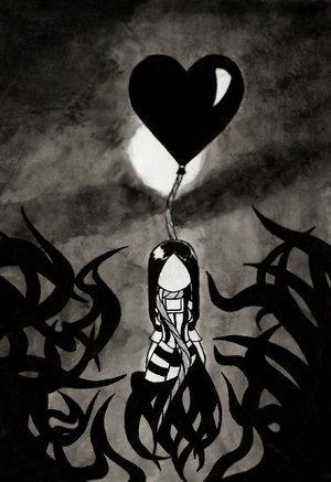 Emo Black Heart Emo Myniceprofile Com