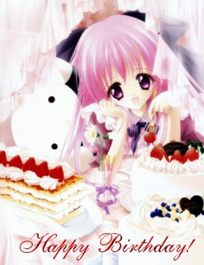 Happy Birthday! -- Anime Girl :: Happy Birthday ...