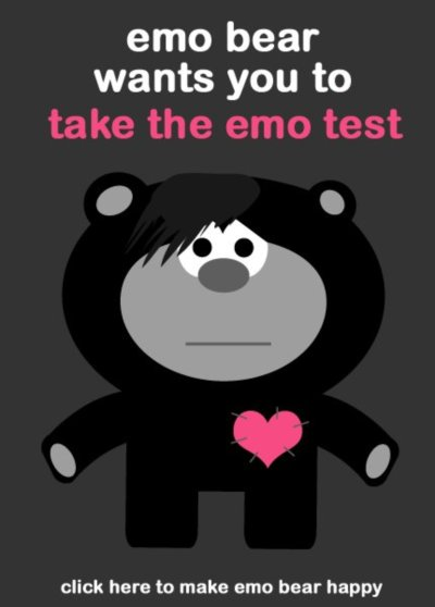 Are you emo quiz
