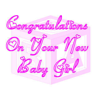 congrats on new baby girl