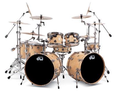 DW Collectors Series Broken Glass 5pc Drum Set 10/12/14/16/22