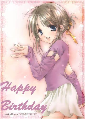 Happy Birthday ANIME GIRL :: Happy Birthday ...