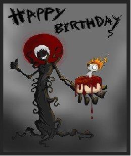 Goth Happy Birthday Happy Birthday Myniceprofile Com